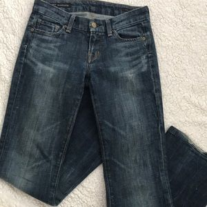 Citizens of humanity distressed jeans sz 25
